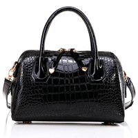2014 spring crocodile pattern handbag one shoulder cross-body women's handbag bag