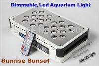 Hotselling Sunrise Sunset Dimmable Led Aquarium Light 72W UV Remote Auto Dim Coral Reef Led Lighting