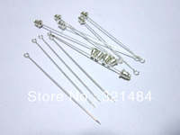 150pcs Silver plated 60mm safety scarf pins,hijab pins