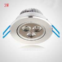 Led Spotlights 3W Full Set Downlight Wall Fog Lamp Energy Saving Lamps Free Shipping
