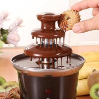 drop shipping Household mini fondue fountain chocolate fountain chocolate fondue wedding