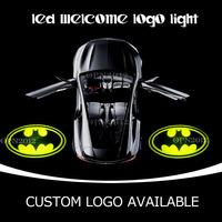 Dark Knight Batman GOBO Car Door Cree LED Emblem Welcome Laser Light Projection Spotlight Ghost Shadow Logo Puddle Light 2421