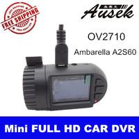MINI 0801 DVR PROCAM CX4 Car DVR Recorder with Ambarella A2S60 chip Full HD 1920*1080P 30fps +built-in 8GB +file copy +G-sensor
