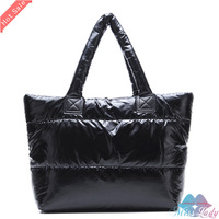 Wholesale Winter Cotton Handbag Fashion Women handbag 9 color women shoulder bag,warm handbag,Leisure totes 7020