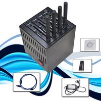 NEW Wireless GSM GPRS USB 4 Port Wavecom Q2406 Modem Pool