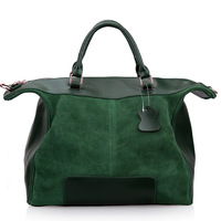 2013 fashion casual genuine leather cowhide women messenger bags wool cowhide comfortable women totes shoulder handbag