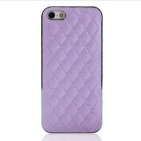 Fashionable pure color, Well-made PU Phone cases, 6 color, CPAM