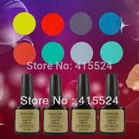 Free Shipping 4Pcs/lot  2014 Newest Soak Off UV Nail Gel Polish Factory Wholesale