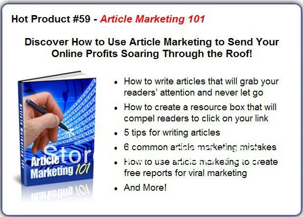 Article Marketing 101(China (Mainland))