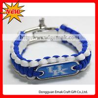 ncaa college newest 550 Parachute Cord Lifesaving Bracelets