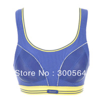 New Arrival Sports Bra Full Cup Size A B C D E F G Cup Active Bra Brand New Adjusted-Straps Pink Blue Bra  WSB914