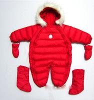 baby down bodysuit jumpsuit overalls wholesale S M L XL  6M  - 2Y