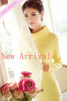 Lady Fashion Sweater Winter Slim Dress,Free Shipping Wholesale Cheap Price,High Quality,One Day Leading