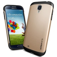 Potrable SGP Slim Armor SPIGEN Hard Back Case for Samsung galaxy S4 I9500 SIV Phone Shell Housing With Frame Cover