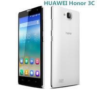 HUAWEI Honor 3C android mobile phone MTK6582 Quad Core 5.0 Inch HD OGS Screen 5.0MP Front Camera