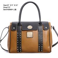 Fashion women leather handbags 2014,genuine leather,women totes,handbags,shoulder purse,rivet bags women,day clutches,candy bags