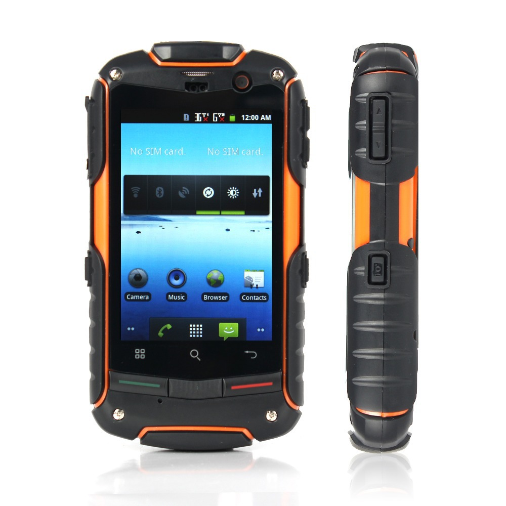 100% Original AGM ROCK V5 New Version Android4.0.4 dual core 512MB RAM + 4GB ROM 3G waterproof phone(China (Mainland))