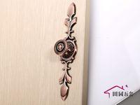 """Red Bronze Handles Vintage Antique Cupboard Cabinet Drawer Door Knob Pulls 170mm 6.69"""" MBS034-8"""