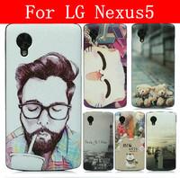 24 Species pattern Lichi Grain cover case for LG Nexus 5 case google Nexus 5 case Lg Nexus 5 cover