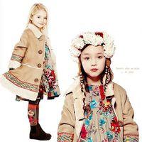 Hot Sale, 2014 new spring fashion children outerwear&coat, brand girls coat & jacket, designer kids lace coat girl coats