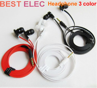 2013 new 3.5mm in Ear Earbuds Headset Headphone Earphone With Mic For MP3 For iPhone For Samsung.for tablet freee shipping