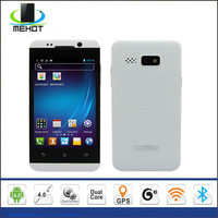 Free shipping SF-H80W 4.0 inch capacitive touch screen MTK6572 Dual core Android 4.2 WIFI GPS 3G Mobile Phone