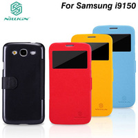 Original Nillkin side flip leather case Fresh Series Leather Case for Samsung Galaxy mega 5.8 i9150 Free shipping