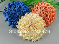 18PC High-grade ribbon roses Applique/craft/DIY of Pick color