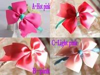 2014 Brand New Girls Fashion Hairband Children's  Headband with Ribbon Bow girls cute fashion hair accessories Free Shipping