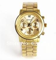 New Arrivals Women Watches,Geneva Steel belt Watches,Fashion Gift Watch,Free Shipping