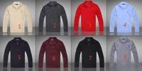 Brand New Winter Men's Stand-up collar Zipper Cashmere Sweater Jumpers Size:M,L,XL,XXL