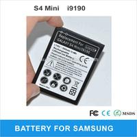 Cellphone battery mobile for Samsung  GALAXY S4 Mini i9190 i9192 i9195 i9198 2pcs