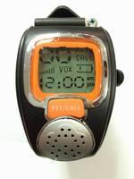 Free shipping Watch walkie talkie 008 2pcs outside sport lovers intercommunicating  2-WAY Radios Freetalker Wrist  Watch