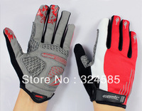 Free shipping Men's MTB Cycling Mountain Road bike bicycle Winter Warm full-fingered gloves M L XL