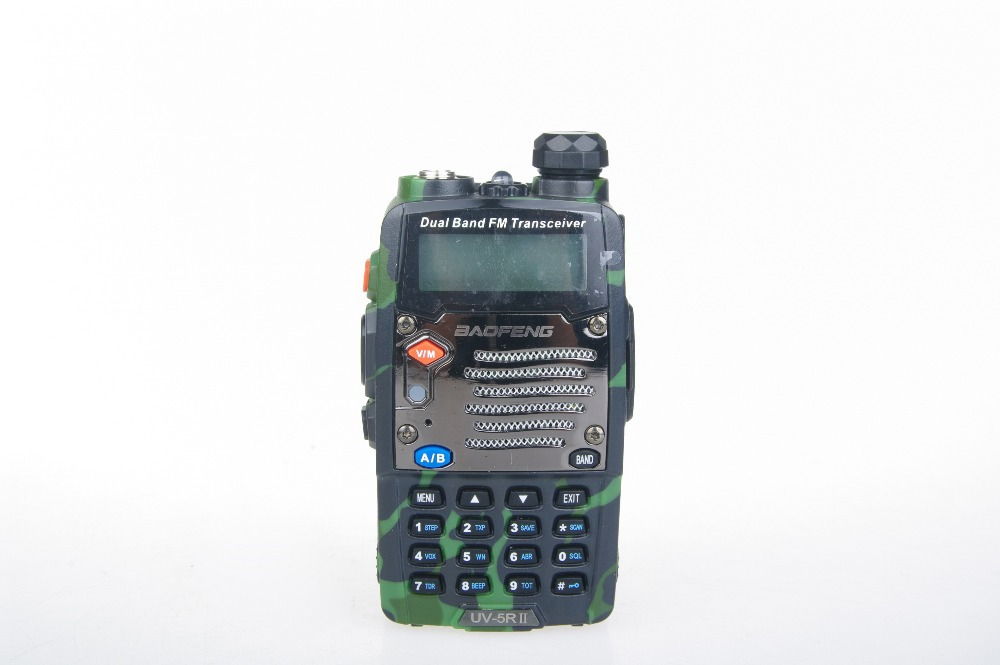 micro-miniature multiband Baofeng UV5R A Dual Band Ham Two way Radio Transceiver Walkie Talkie Speaker MIC(China (Mainland))