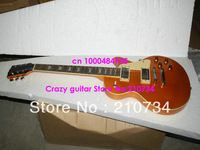 Wholesale -  New Arrival Goldtop Standard Electric Guitar High Quality Wholesale OEM Cheap