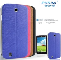 for zte u809 case leather stand flip cover