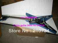 Wholesale -Blue Razorback DEAN Very Beauty Electric Guitar High Quality Wholesale HOT