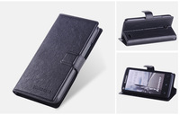 Luxury Flip Wallet PU Leather Case Cover With Card Slot and Stand Holder For Lenovo a820t+ Free Screen Protector Film