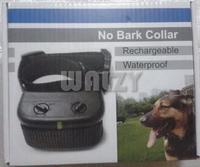 Waterproof Rechargeable Anti No Bark pet Training Shock Collar