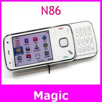 Original nokia N86 mobile phones ,unlocked n86 cell phones 3G WIFI 8MP bluetooth mp3 player free shipping