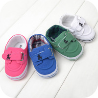 2014 New spring Brands sneaker baby shoes red blue green white comfort soft sole baby shoes boys bebe casual sapatos R1080