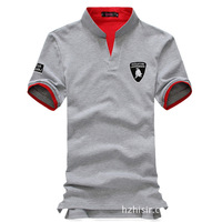 [ Foreign Trade ] 2013 summer special for the new Slim Men's short-sleeved T-shirt PLOL Lamborghini embroidery 2289