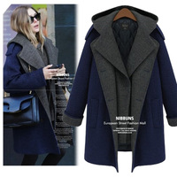 2013 winter medium-long woolen outerwear female thickening women's woolen overcoat