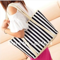 2013 plaid bag stripe High Quality casual Messenger Bag  classic handbag of the genitive women's sprot gym bag