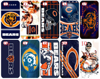 10PCS/lot For bulk new bears skin design white hard back cover case for iphone 5C+free shipping