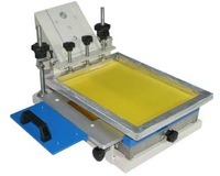 Manual Flat Screen Printer with Shuttle Workingtable
