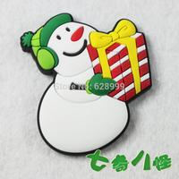 MOQ 5PCS mix Christmas refrigerator stickers magnets christmas gift christmas snowman