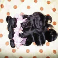 "eurasian 6a virgin hair unprocessed body wave extensions mixed(16""-18""-20""),best weave beauty best deal !"