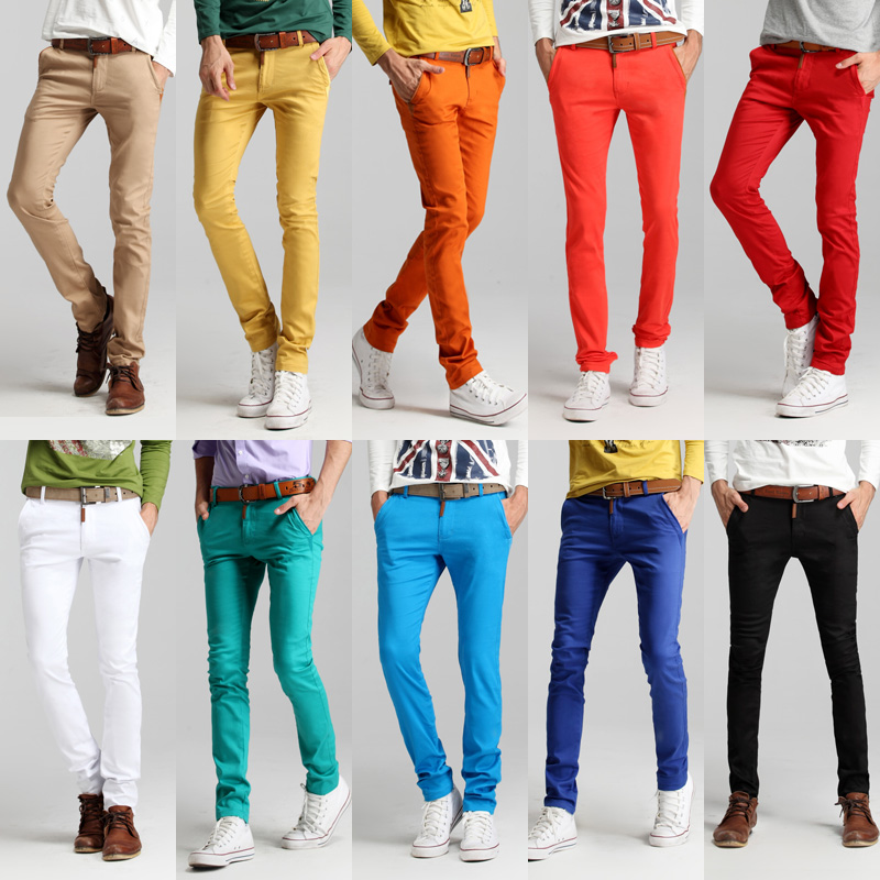 colorful mens pants - Pi Pants
